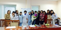 Ms. Ha and participants celebrate the completion of the course!