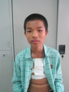 Duc after surgery: much healthier already!