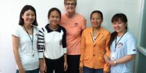 MEDRIX staff reunites with Kieu in 2014: now a healthy college student!